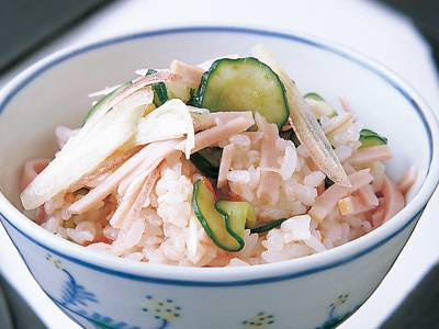 梅だれ混ぜご飯 レシピ 斉藤 辰夫さん|【みんなのきょうの料理】おいしいレシピや献立を探そう