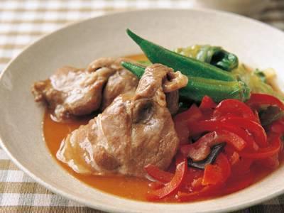 ピーマンと豚肉のうま煮 レシピ 夏梅 美智子さん 【みんなのきょうの料理】おいしいレシピや献立を探そう