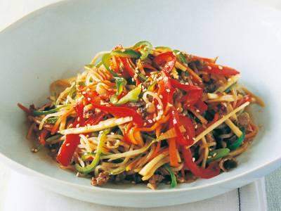 糸こんチャプチェ レシピ 金子 ひろみさん|【みんなのきょうの料理】おいしいレシピや献立を探そう