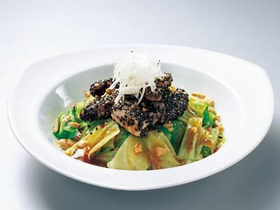ささ身とゆでキャベツのザックリあえ レシピ 田中 愛子さん|【みんなのきょうの料理】おいしいレシピや献立を探そう