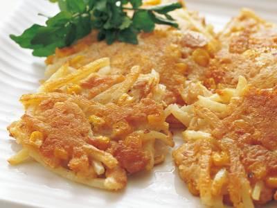 ツナとコーンのハッシュドポテト レシピ 村田 裕子さん|【みんなのきょうの料理】おいしいレシピや献立を探そう