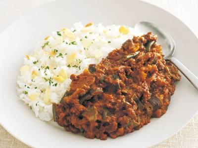ひき肉とたっぷり野菜のカレー