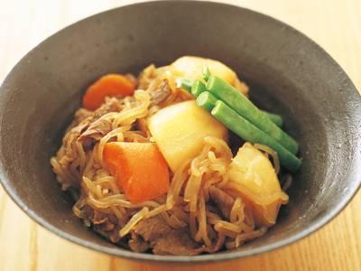 しらたきたっぷり肉じゃが レシピ 本多 京子さん|【みんなのきょうの料理】おいしいレシピや献立を探そう
