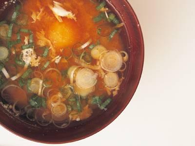 卵入り即席みそ汁 レシピ 河合 真理さん|【みんなのきょうの料理】おいしいレシピや献立を探そう