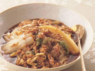 白菜の鶏マーボー レシピ 小田 真規子さん 【みんなのきょうの料理】おいしいレシピや献立を探そう