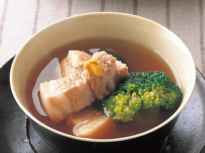 ブロッコリーのスープ東坡肉(トンポーロー) レシピ 山本 麗子さん 【みんなのきょうの料理】おいしいレシピや献立を探そう