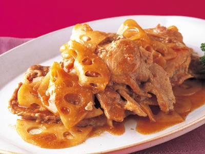 れんこんと豚肉のとろみしょうが焼き レシピ 小田 真規子さん 【みんなのきょうの料理】おいしいレシピや献立を探そう