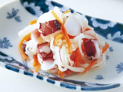 ゆでだこ入りなます レシピ 高城 順子さん|【みんなのきょうの料理】おいしいレシピや献立を探そう