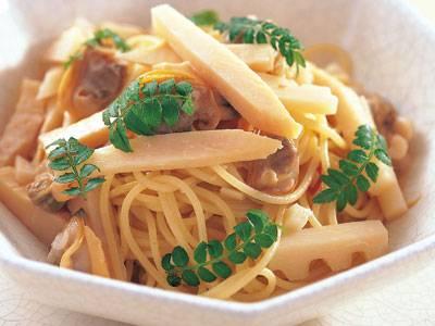たけのことあさりのスパゲッティ レシピ 笹島 保弘さん|【みんなのきょうの料理】おいしいレシピや献立を探そう