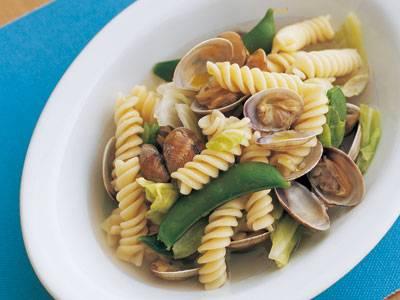 あさりとキャベツのスープパスタ レシピ 牧野 直子さん|【みんなのきょうの料理】おいしいレシピや献立を探そう