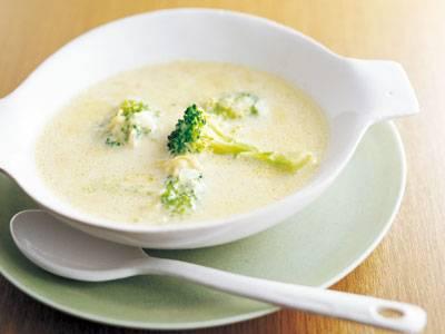 帆立てとブロッコリーの 豆乳スープ レシピ 福山 秀子さん|【みんなのきょうの料理】おいしいレシピや献立を探そう