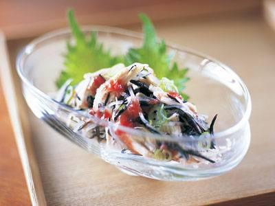 ひじきと鶏肉の梅風味サラダ レシピ 杉本 節子さん|【みんなのきょうの料理】おいしいレシピや献立を探そう