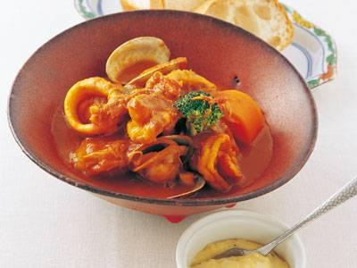 シーフードトマトシチュー レシピ 中村 正明さん|【みんなのきょうの料理】おいしいレシピや献立を探そう