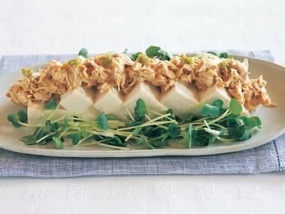 ツナマヨの柚子こしょう冷ややっこ レシピ 鈴木 薫さん|【みんなのきょうの料理】おいしいレシピや献立を探そう