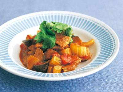 豚肉とセロリのトマト煮 レシピ 牧野 直子さん 【みんなのきょうの料理】おいしいレシピや献立を探そう