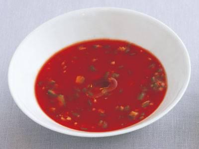 オクラのガスパチョ風 レシピ 牧野 直子さん|【みんなのきょうの料理】おいしいレシピや献立を探そう