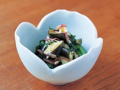なすの即席しば漬け レシピ 杉本 節子さん 【みんなのきょうの料理】おいしいレシピや献立を探そう