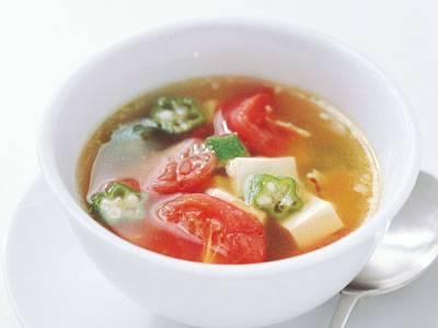 豆腐とトマトの ピリ辛スープ レシピ 高城 順子さん 【みんなのきょうの料理】おいしいレシピや献立を探そう