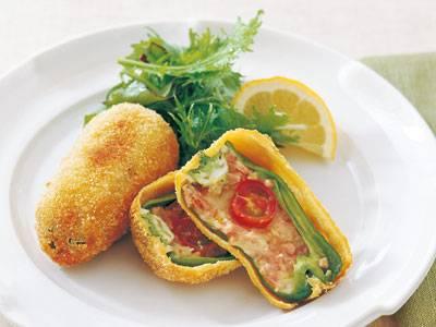 クイックピーマンフライ レシピ サルボ 恭子さん 【みんなのきょうの料理】おいしいレシピや献立を探そう