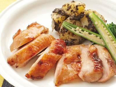 今日の料理ビギナーズ「新玉ねぎと鶏もも肉のグリ …
