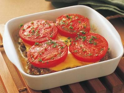 牛ひき肉とトマトの重ね蒸し レシピ ほりえ さわこさん|【みんなのきょうの料理】おいしいレシピや献立を探そう