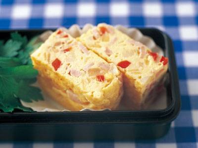 カラフルオムレツ レシピ 村田 裕子さん|【みんなのきょうの料理】おいしいレシピや献立を探そう