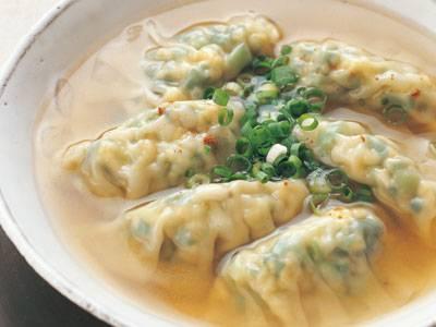 にらたま白菜スープギョーザ レシピ 瀬尾 幸子さん|【みんなのきょうの料理】おいしいレシピや献立を探そう