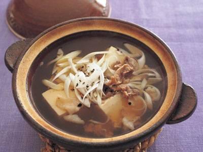 肉豆腐小鍋仕立て レシピ 河村 みち子さん|【みんなのきょうの料理】おいしいレシピや献立を探そう