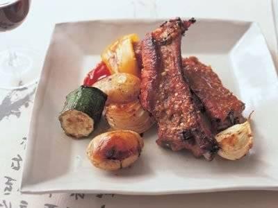 豚肉のスペアリブ薬念醤(ヤンニョムジャン)風味 レシピ 李 映林さん|【みんなのきょうの料理】おいしいレシピや献立を探そう