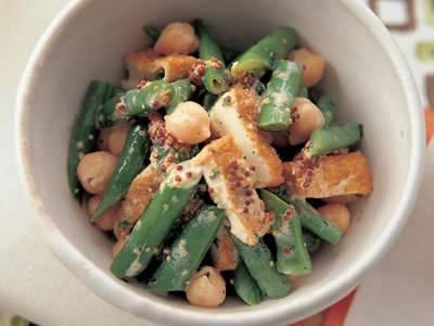 いんげんとひよこ豆のサラダ レシピ 門倉 多仁亜さん 【みんなのきょうの料理】おいしいレシピや献立を探そう