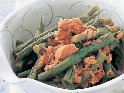 いんげんとツナの煮物 レシピ 栗原 はるみさん|【みんなのきょうの料理】おいしいレシピや献立を探そう