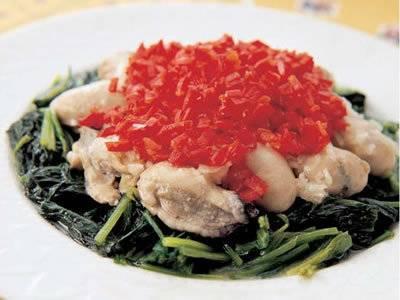 かきとほうれんそうのビネグレット レシピ 真崎 敏子さん|【みんなのきょうの料理】おいしいレシピや献立を探そう