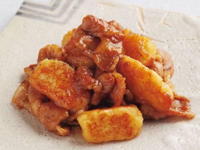 【京料理人のかんたん和食】豚肉とれんこんのしょうが焼き豚肉とれんこんのしょうが焼き