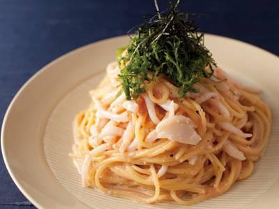 ザ・夏ごはんいかたらこスパゲッティ