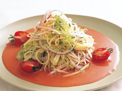 ピンクサラダパスタ レシピ グッチ 裕三さん|【みんなのきょうの料理】おいしいレシピや献立を探そう