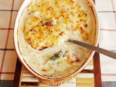 白菜とたらのグラタン レシピ ケンタロウさん|【みんなのきょうの料理】おいしいレシピや献立を探そう
