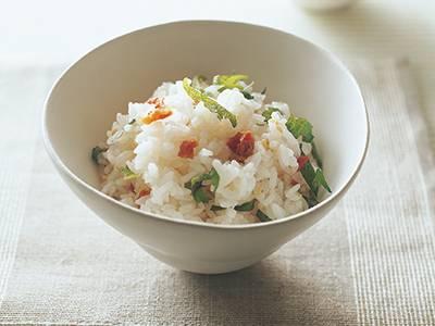 梅干しと青じその混ぜご飯 レシピ 高城 順子さん 【みんなのきょうの料理】おいしいレシピや献立を探そう