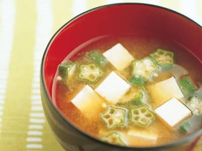 豆腐とオクラのみそ汁 レシピ 高城 順子さん|【みんなのきょうの料理】おいしいレシピや献立を探そう