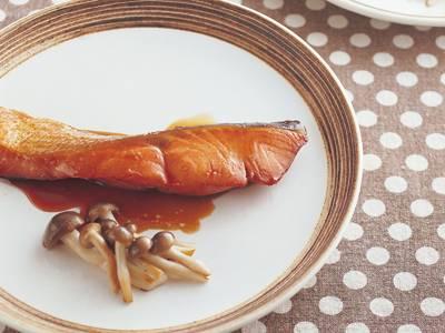 冷凍鮭(ざけ)の照り焼き レシピ 高城 順子さん|【みんなのきょうの料理】おいしいレシピや献立を探そう