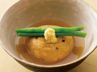 村田吉弘の秋の献立】日々の一汁三菜がんもどきの含め煮