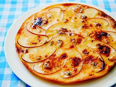 りんごのデザートピザ レシピ 栗原 はるみさん|【みんなのきょうの料理】おいしいレシピや献立を探そう