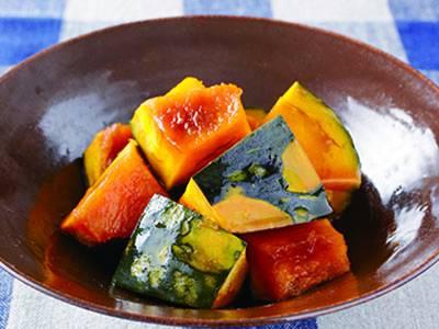 かぼちゃの煮物 レシピ 講師は柳原 一成さん 使える料理レシピ集 みんなのきょうの料理 NHKエデュケーショナル