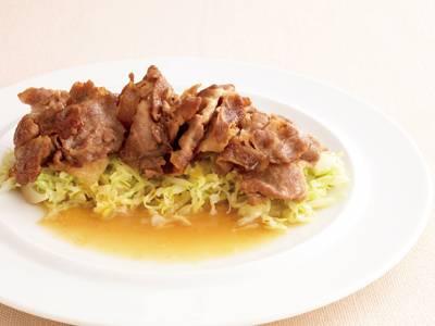 春キャベツと豚肉のソテー にんにくバターソース レシピ 瀬田 金行さん 【みんなのきょうの料理】おいしいレシピや献立を探そう