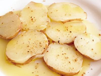 ボイルドポテトのオリーブ油がけ レシピ 瀬田 金行さん|【みんなのきょうの料理】おいしいレシピや献立を探そう