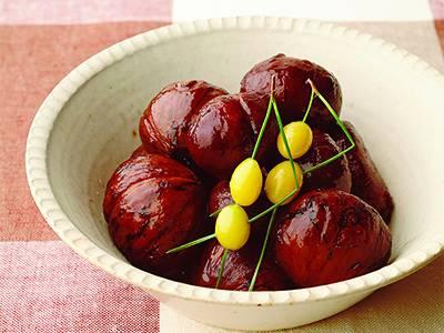 栗の甘露煮 レシピ 清水 信子さん|【みんなのきょうの料理】おいしいレシピや献立を探そう