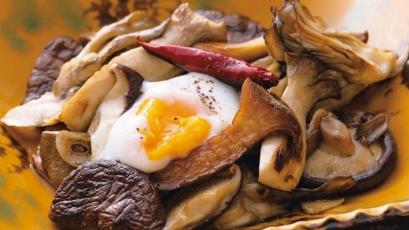 【今日の料理】【今日の料理】フライパン焼ききのこ