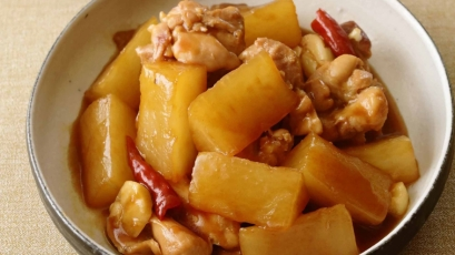 【今日の料理】【今日の料理】大根と鶏のオイスターソース煮