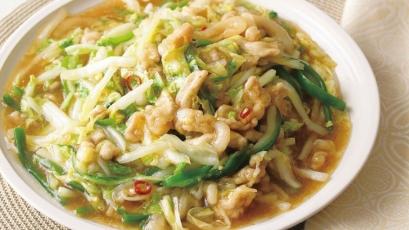 【今日の料理】【今日の料理】白菜のチンジャオロースー