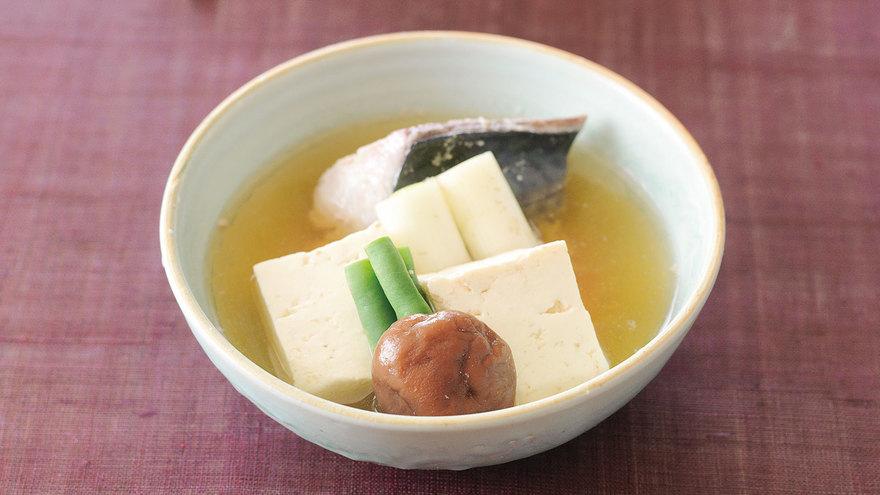 豆腐とさばのあっさり煮 レシピ 野崎 洋光さん|【みんなのきょうの料理】おいしいレシピや献立を探そう