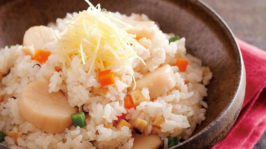 五目帆立て飯 レシピ グッチ 裕三さん 【みんなのきょうの料理】おいしいレシピや献立を探そう
